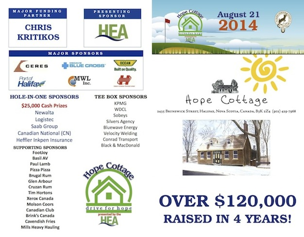 HEA Drive for Hope in support of Hope Cottage